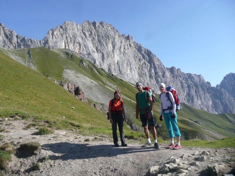 Knapp-Köchler, eine geniale Route an der Schüsselkarspitze