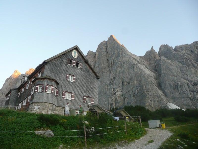 """""""Herzogkante"""" an der Lalidererwand"""