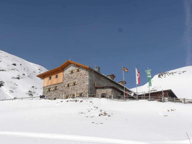 Skitouren auf der Amberger Hütte