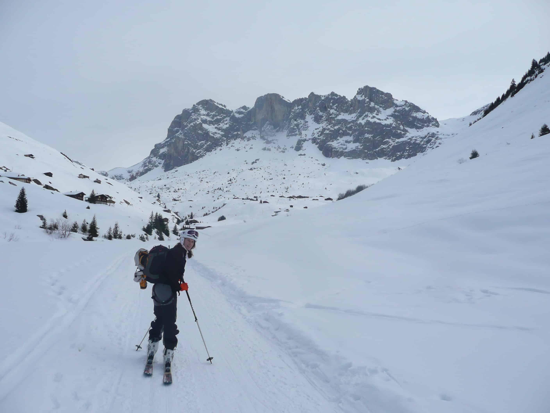 Skitour zur Schijenfluh im Rätikon