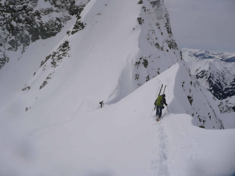 Die Elferrinne im Wildental in den Allgäuer Alpen