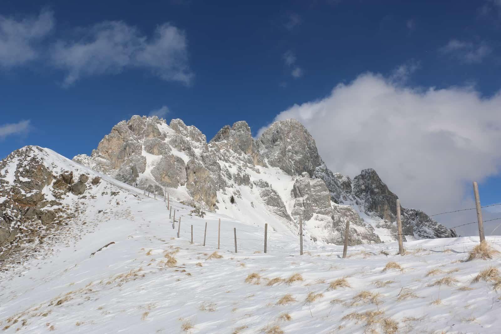 Skitour zur Schneidspitze in den Tannheimer Bergen
