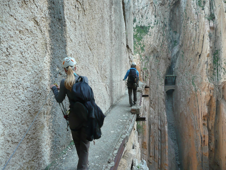 Klettern in El Chorro (Andalusien)