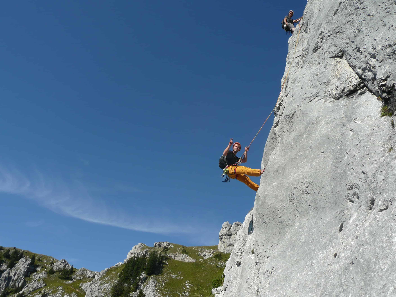 """""""Knöchelbruch"""" am Kleinen Säuling in den Ammergauer Bergen"""