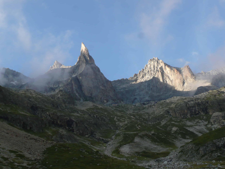 Klettern an der Aiguille Dibona