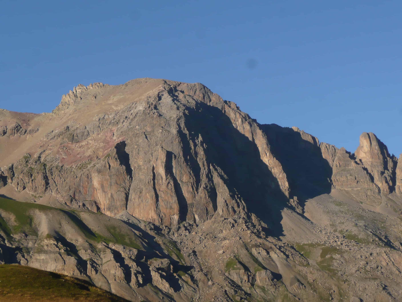Klettern am Tête Colombe