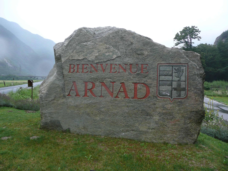 Klettern bei Arnard-Bard