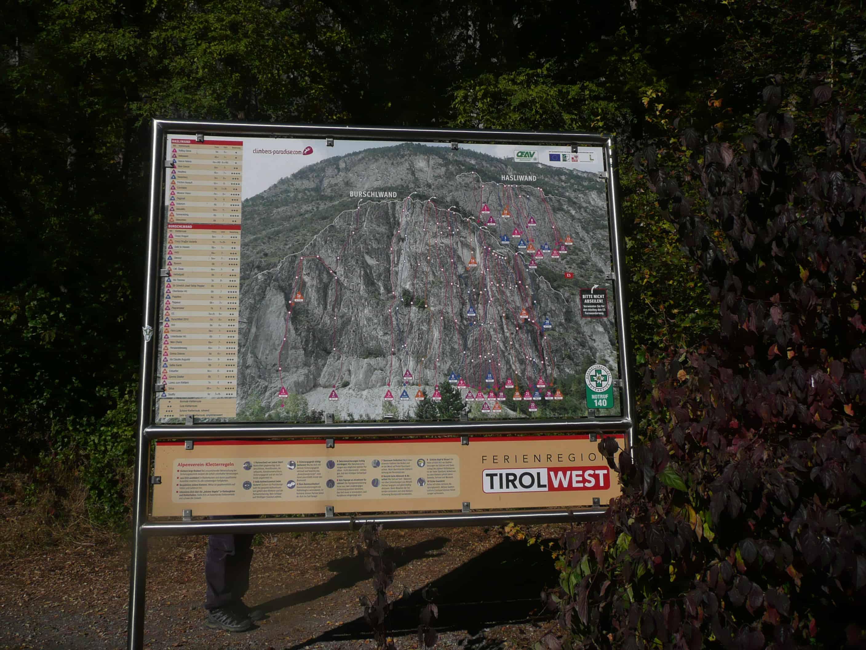 Klettern an der Burschlwand