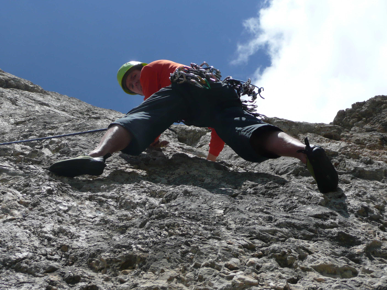Klettern an den Sellatürmen