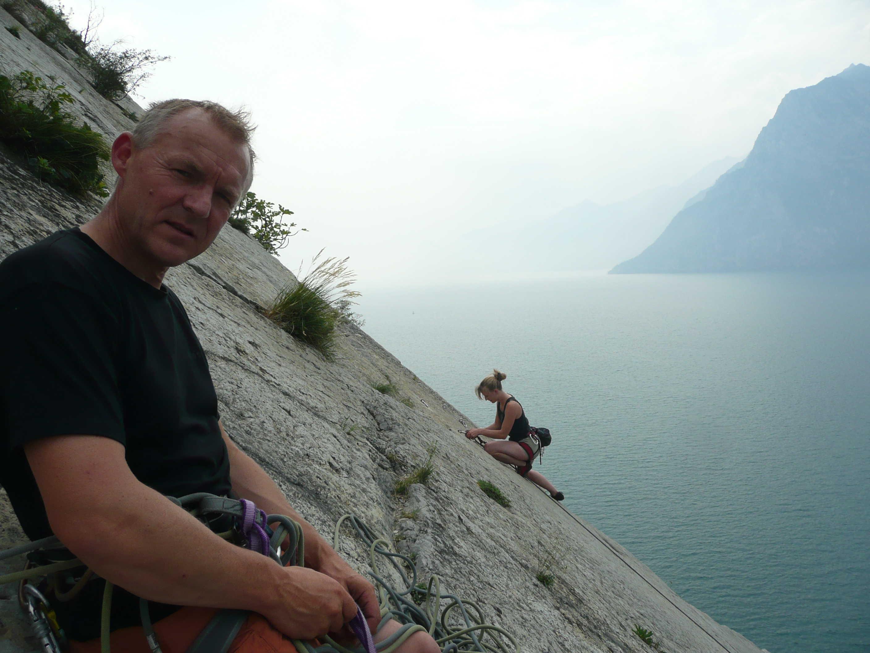 Klettern am Corno di Bo'