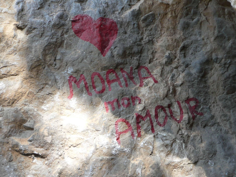 Moana Mon Amour am Mandrea-Massiv