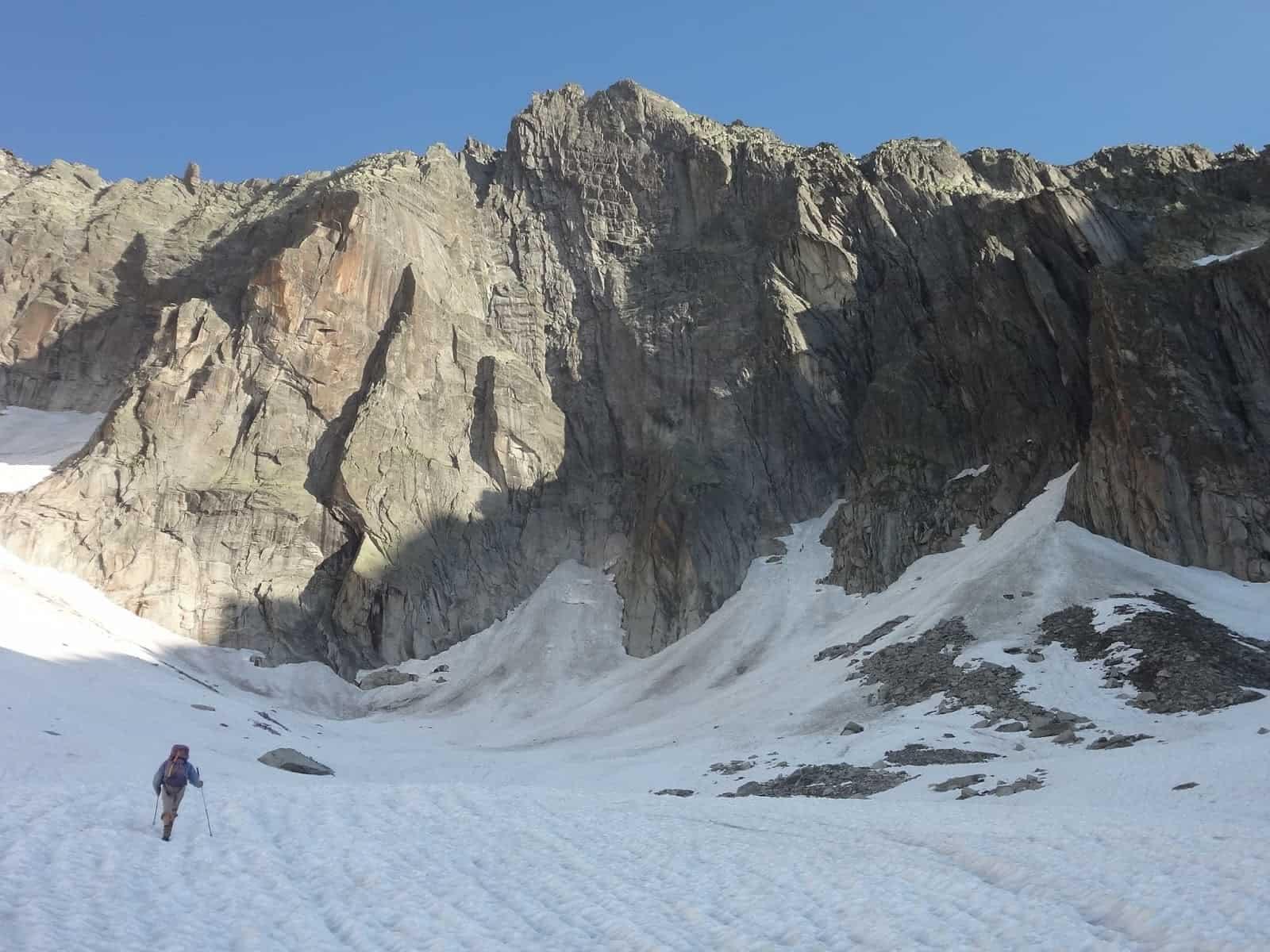 Klettern an der Grauen Wand