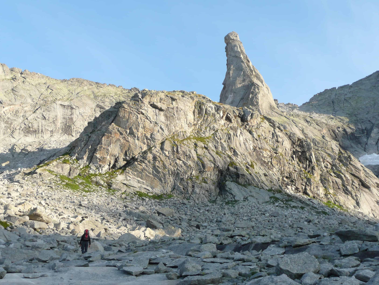 Klettern am Dente de la Veccia