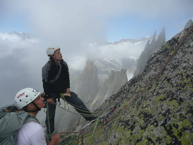 Klettern am Salbitschijen