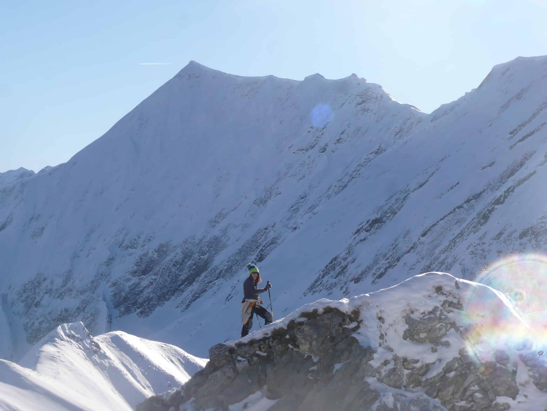 Skitour auf die Täuberspitze im Lechtal