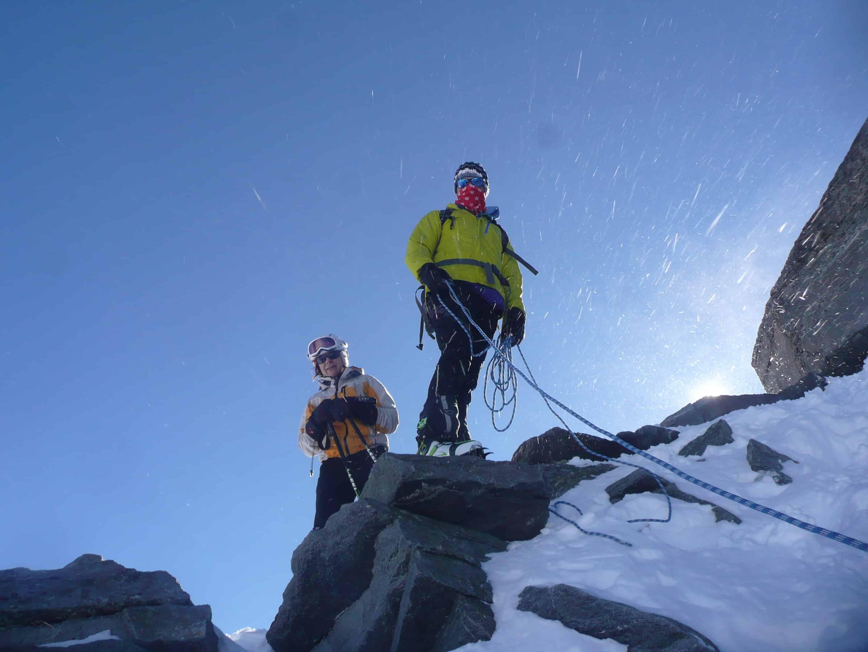 Skitouren im Stubaier Gletscher-Skigebiet