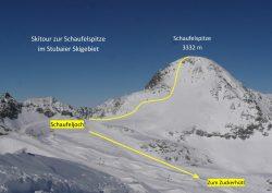 Skitour Schaufelspitze