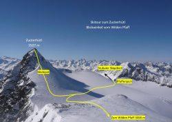 Zuckerhütl Gipfelanstieg