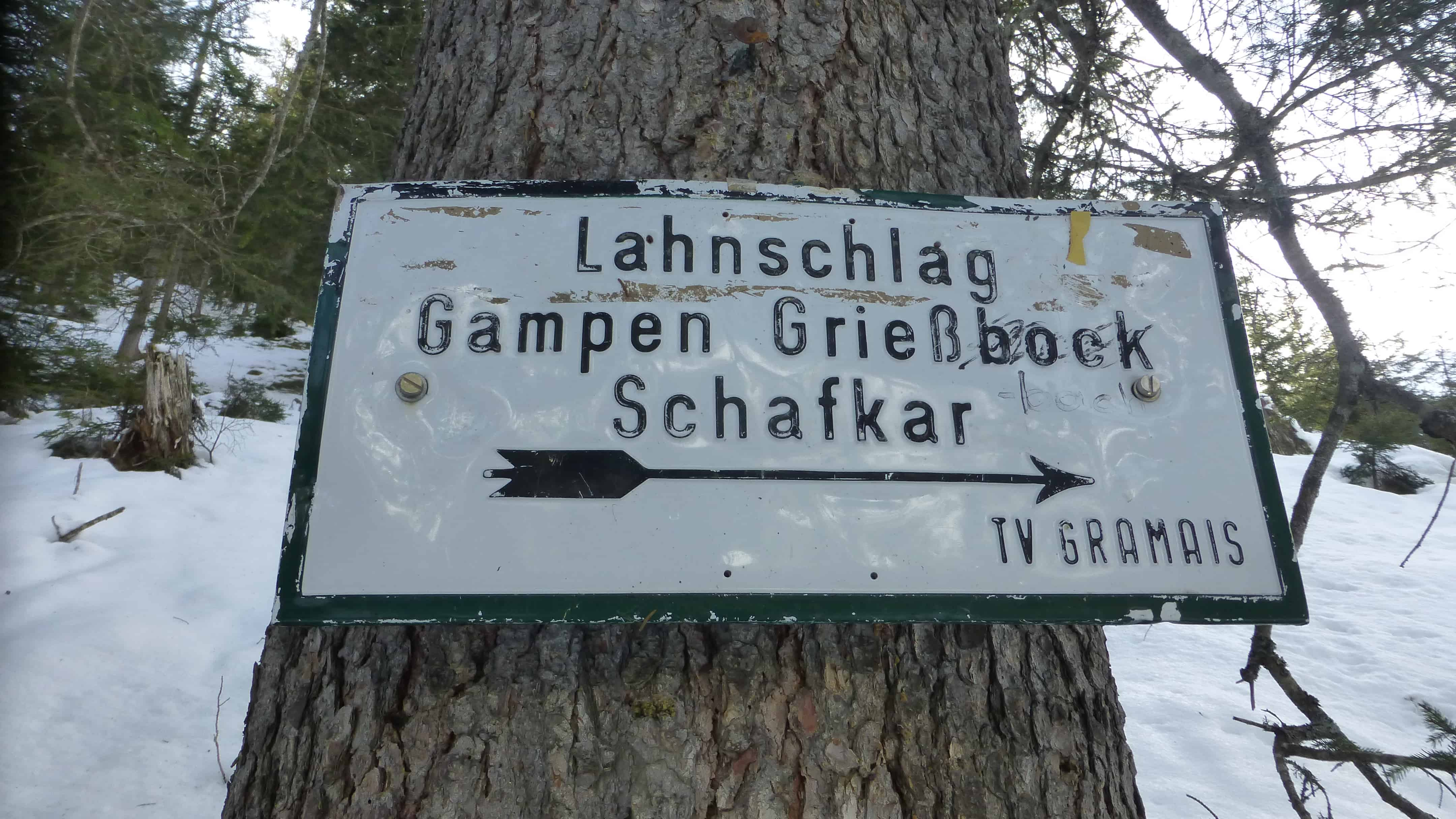 """""""Gramaiser Schafkar"""" in den Lechtaler Alpen"""
