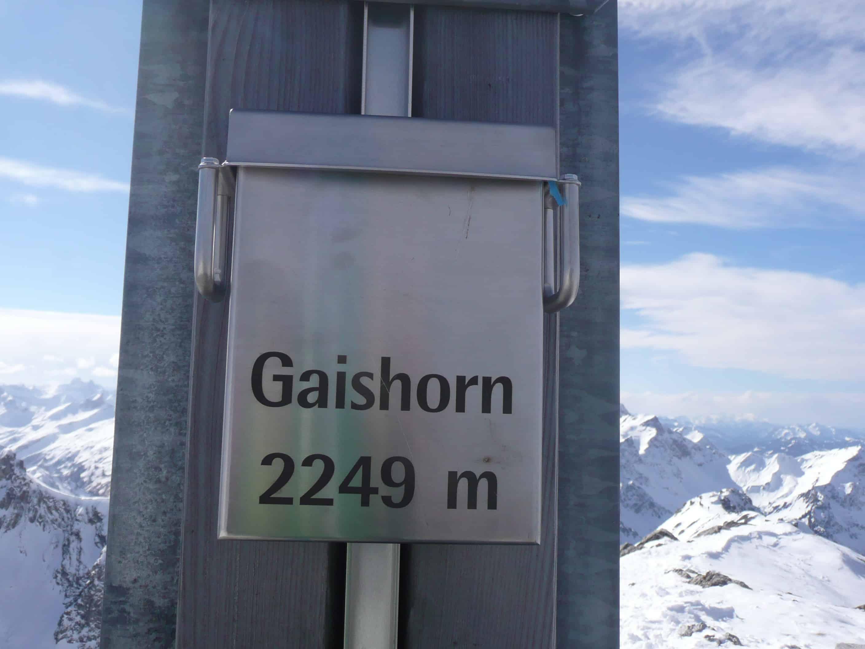 Skitour auf's Gaishorn im Tannheimer Tal