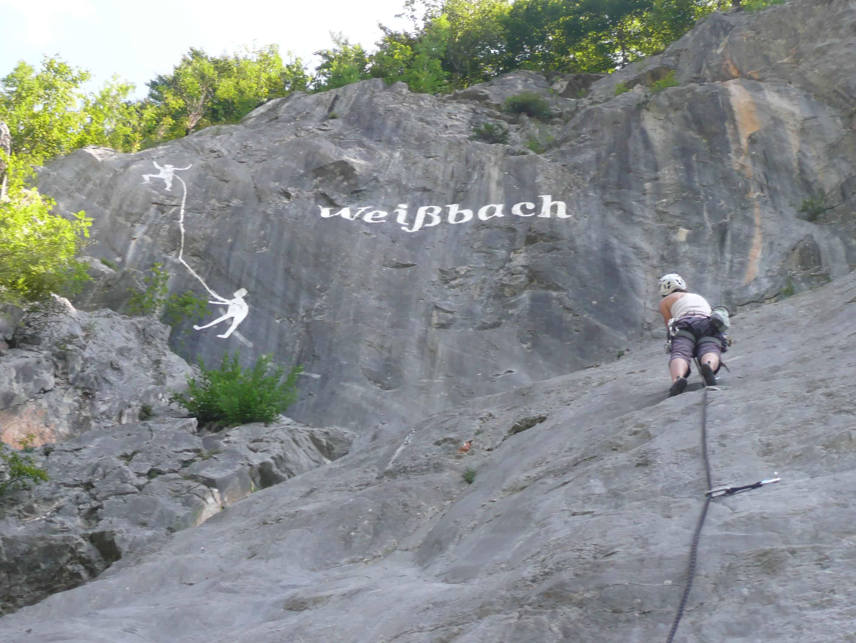 Klettergarten Weißbach bei Lofer