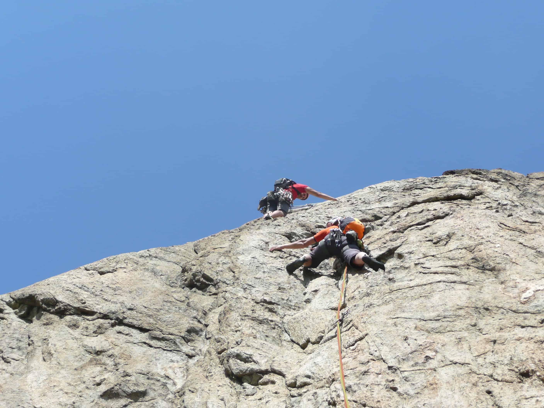Klettern bei Valorcine