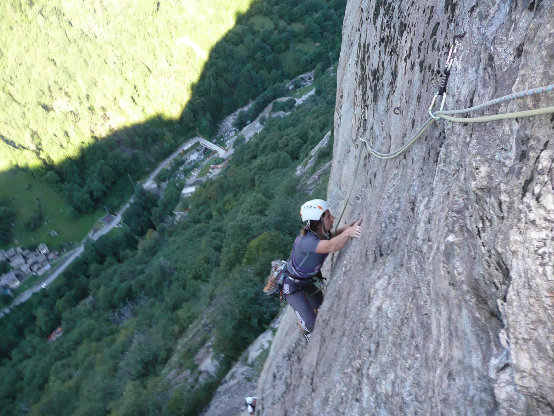 """Tommy"" am Mont Charvatton im Aosta-Tal"