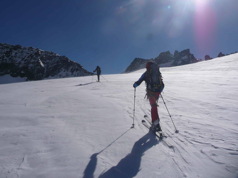 Skitouren auf der Franz-Senn-Hütte