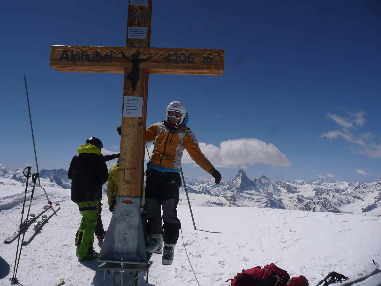 Skitour auf den Alphubel