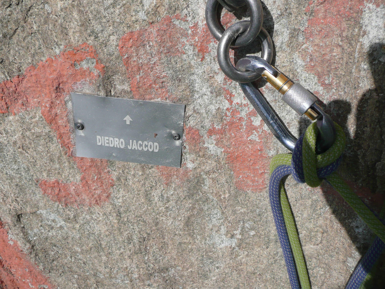 """Diretta al Banano"" und ""Diedro Jaccod"" am Paretone im Aosta-Tal"
