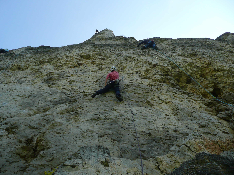 Klettern im Labertal