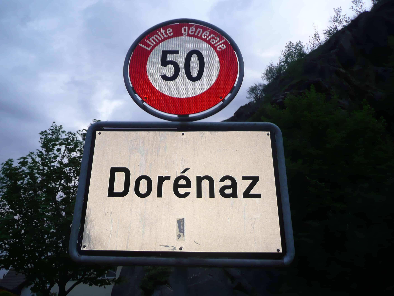 Klettern bei Dorénaz