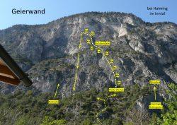 Klettersteig Geierwand : Klettern an der geierwand u allgaeu plaisir