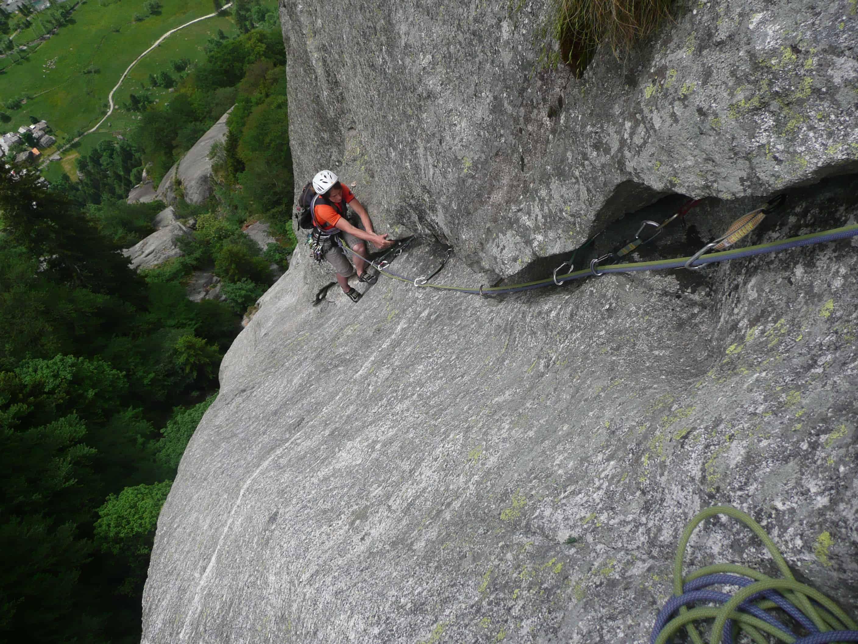 Klettern im Val di Mello