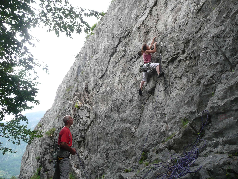 Klettern bei Galbiate