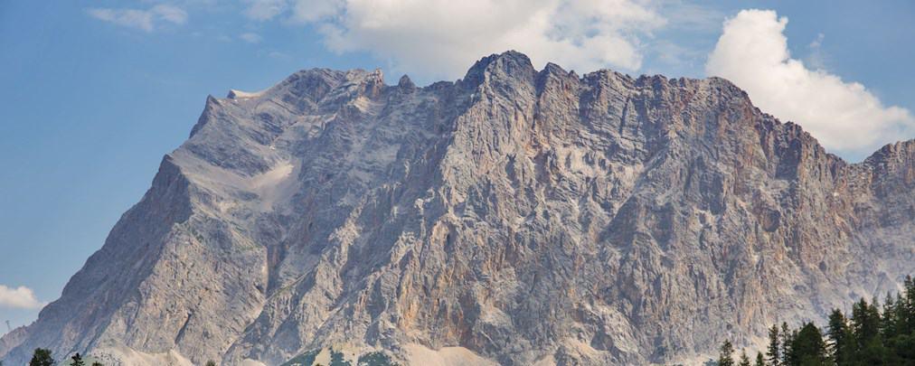 Die Wetterkante am Zugspitz-Massiv