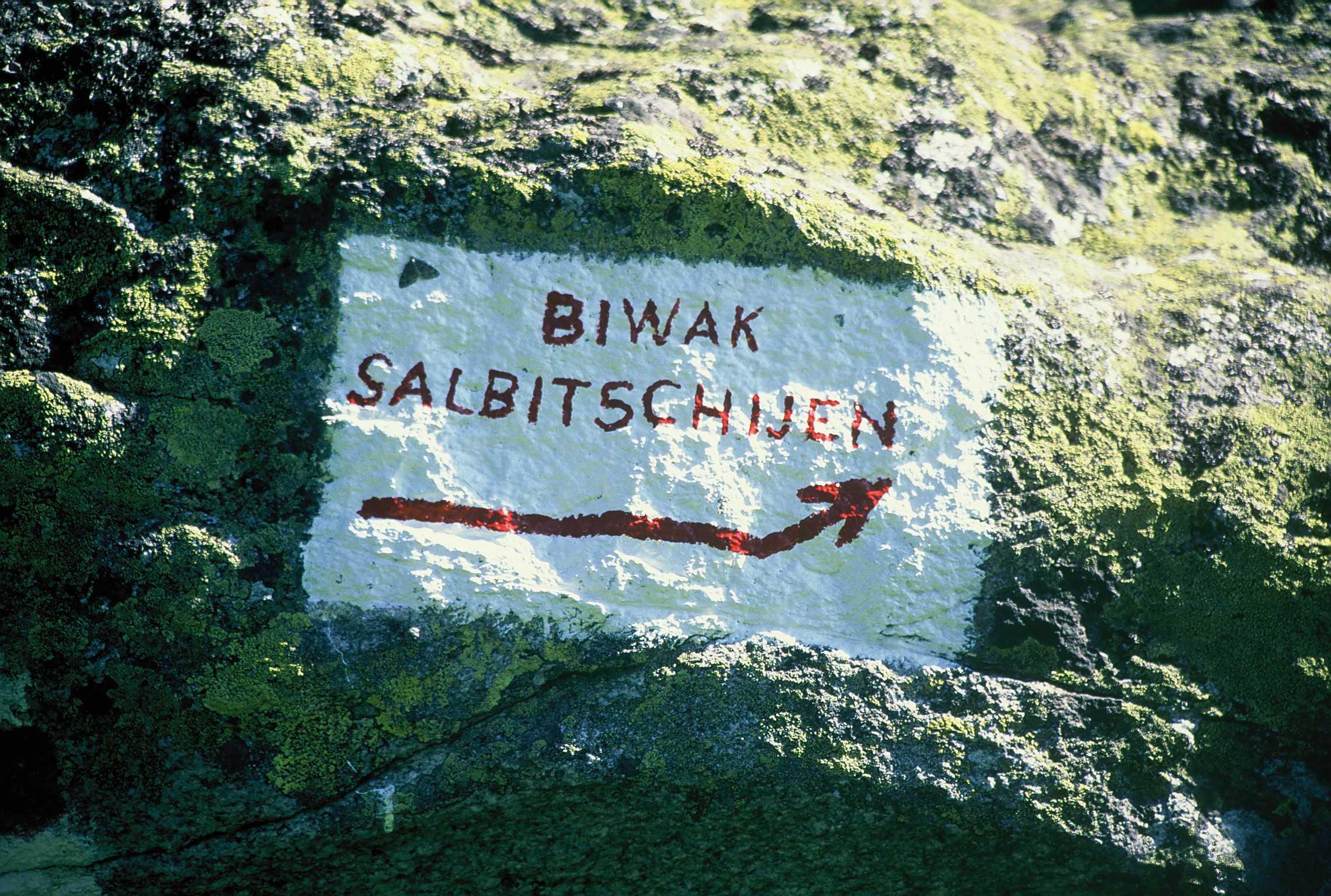 Via Hammerbruch am Salbitschijen