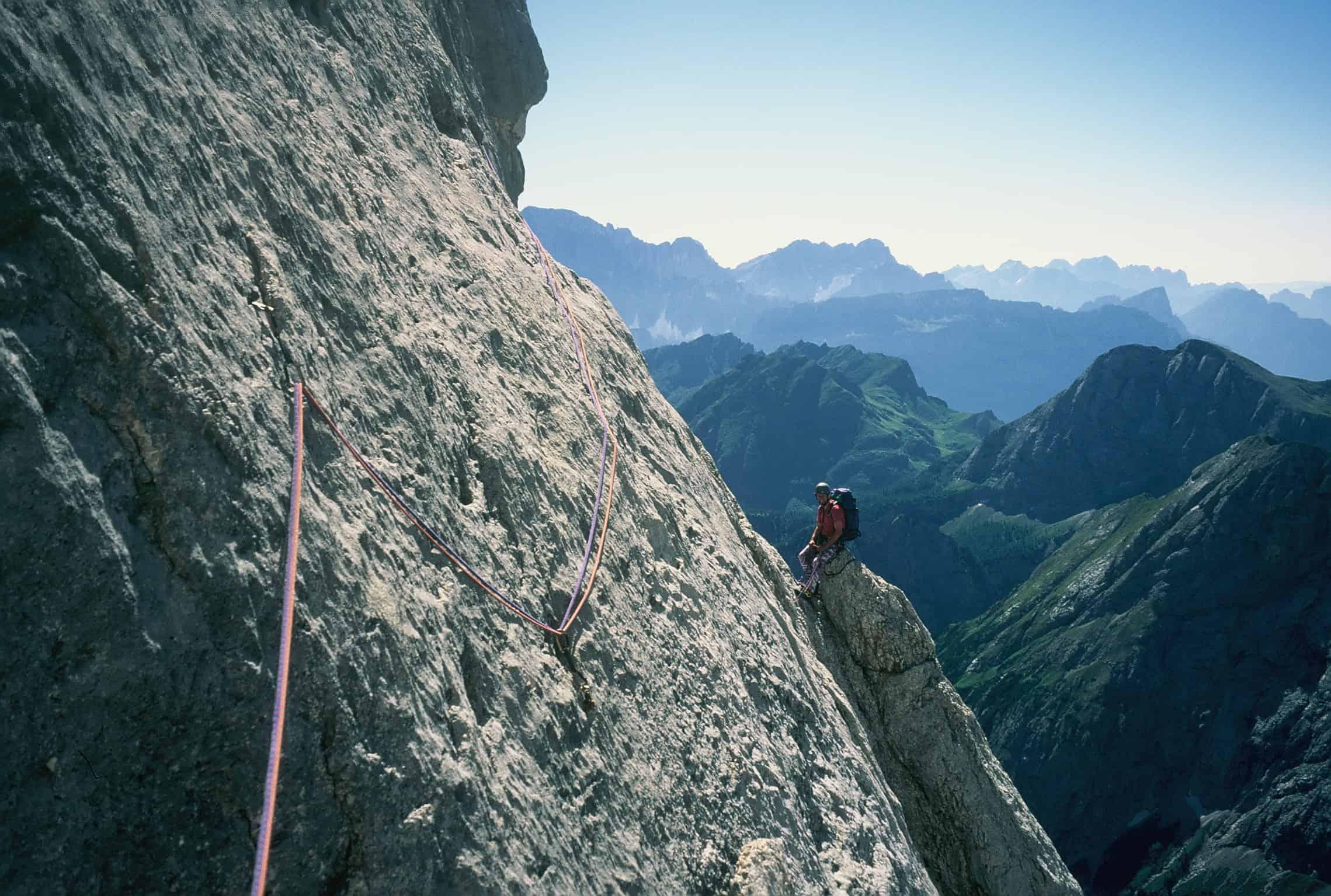 Vinatzer-Messner an der Marmolada