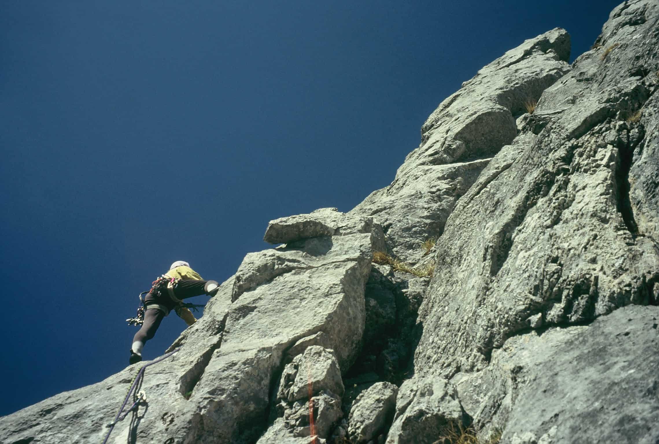 Klettern an der Chemifluh