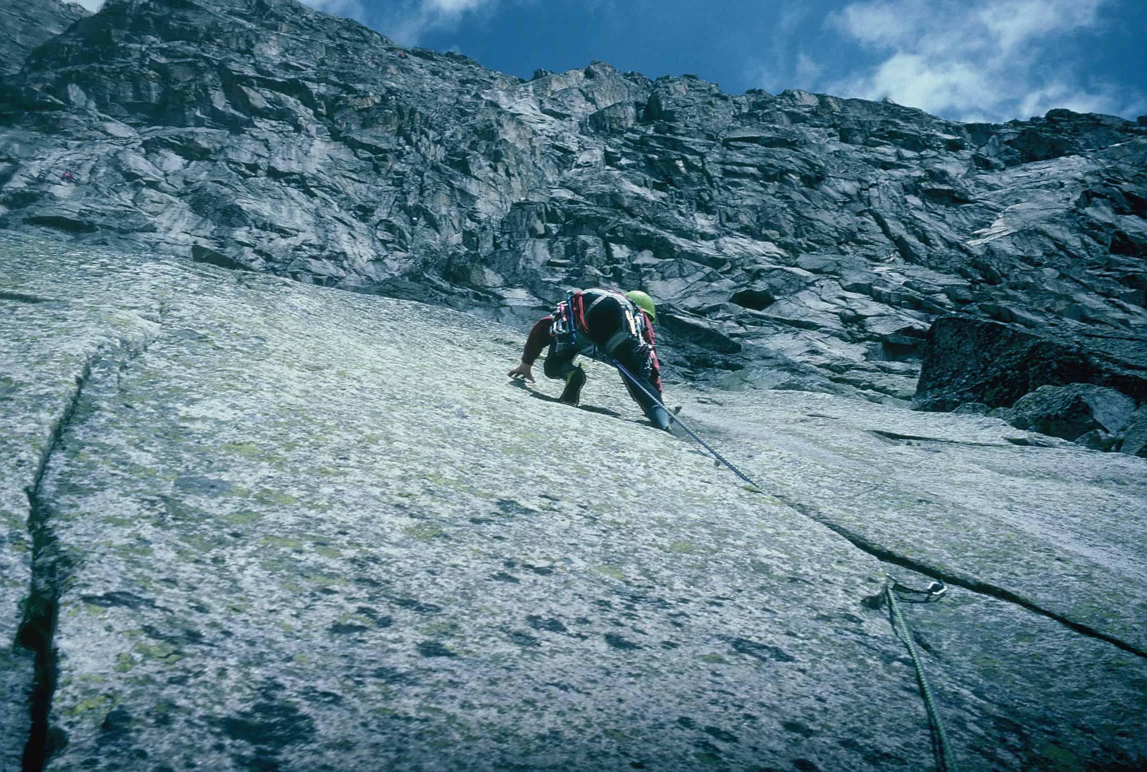 Klettern am Nufenen-Pass