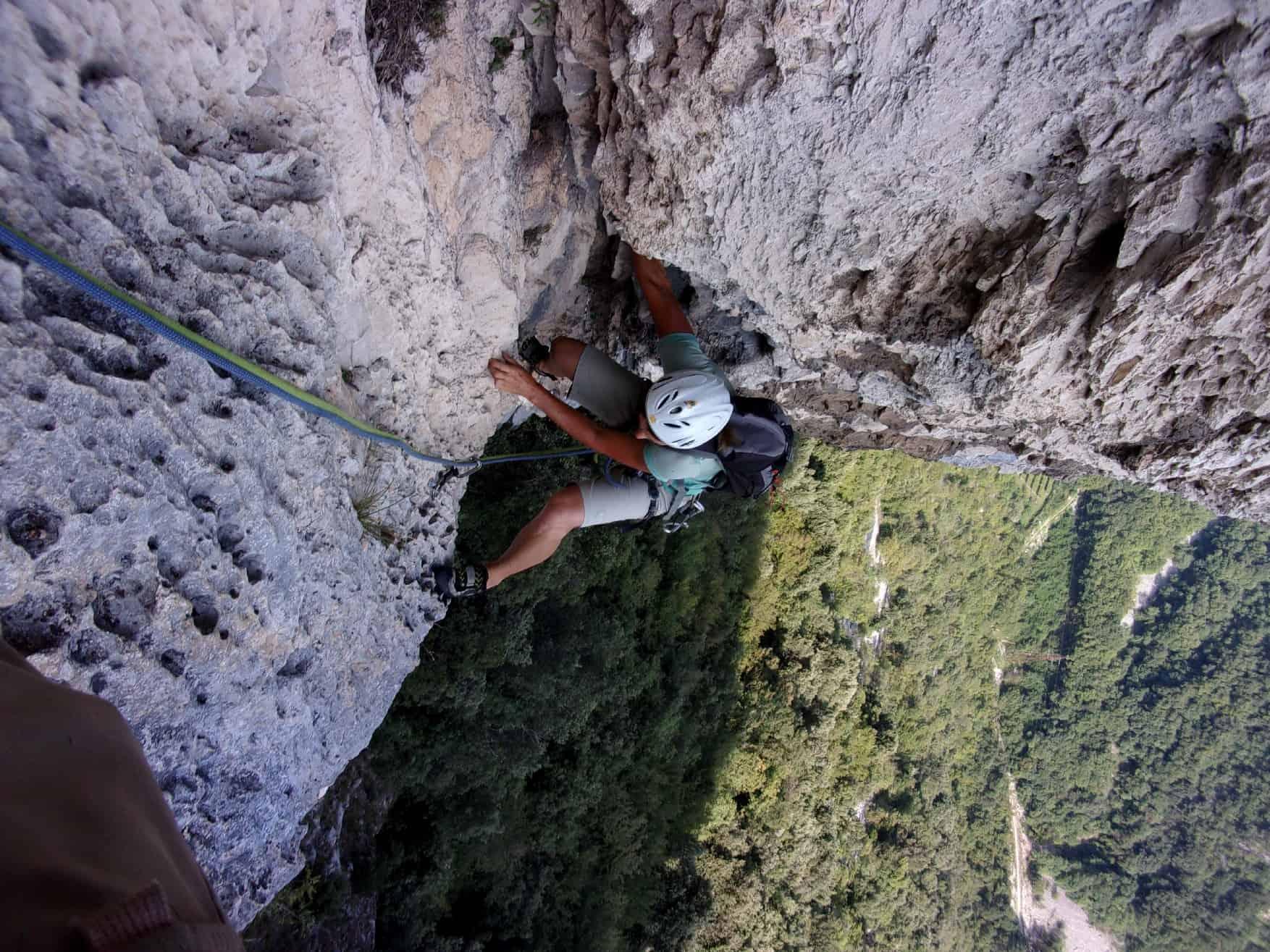 Klettern am Mandrea-Massiv
