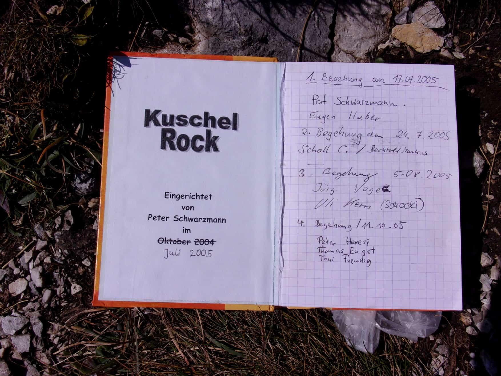 """Kuschelrock"" am Gimpel-Vorbau"
