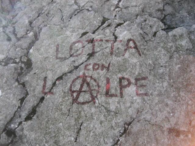 """""""Lotta con L'Alpe"""" am Piccolo Dain-Vorbau"""