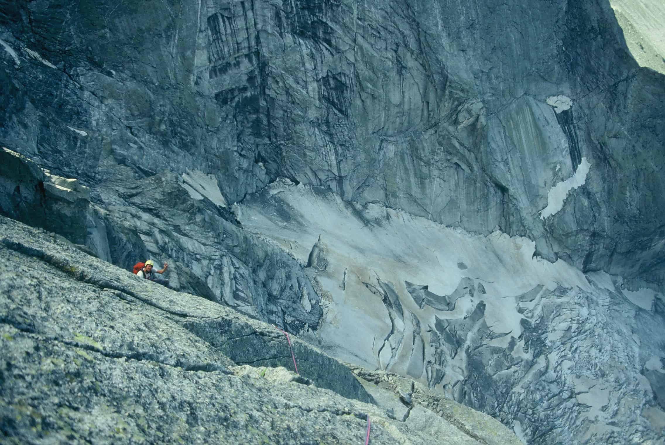 Bergsturz am Piz Cengalo