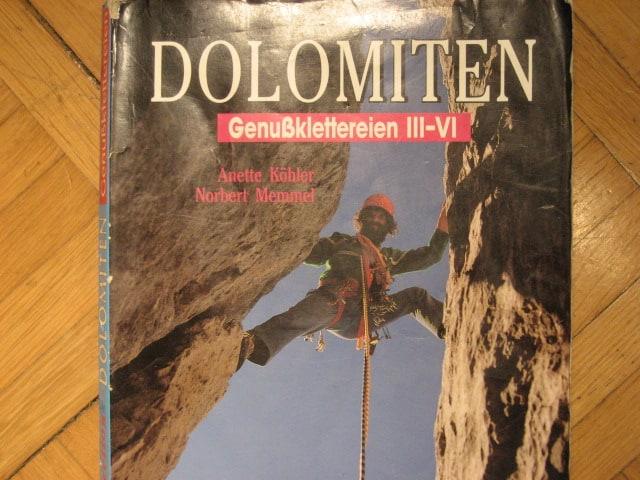 """""""Don Quixotte"""" an der Marmolada-Südwand"""