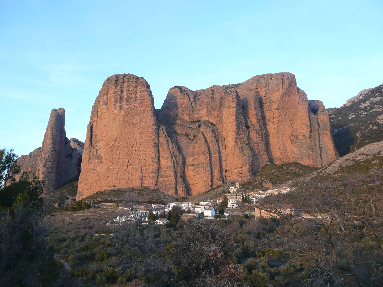 Klettern in Riglos