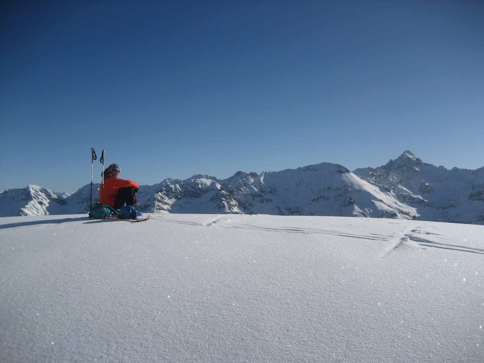 Skitour zum Großen Daumen