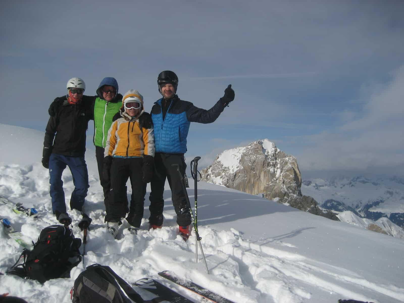 Skitour auf die Feuerspitze