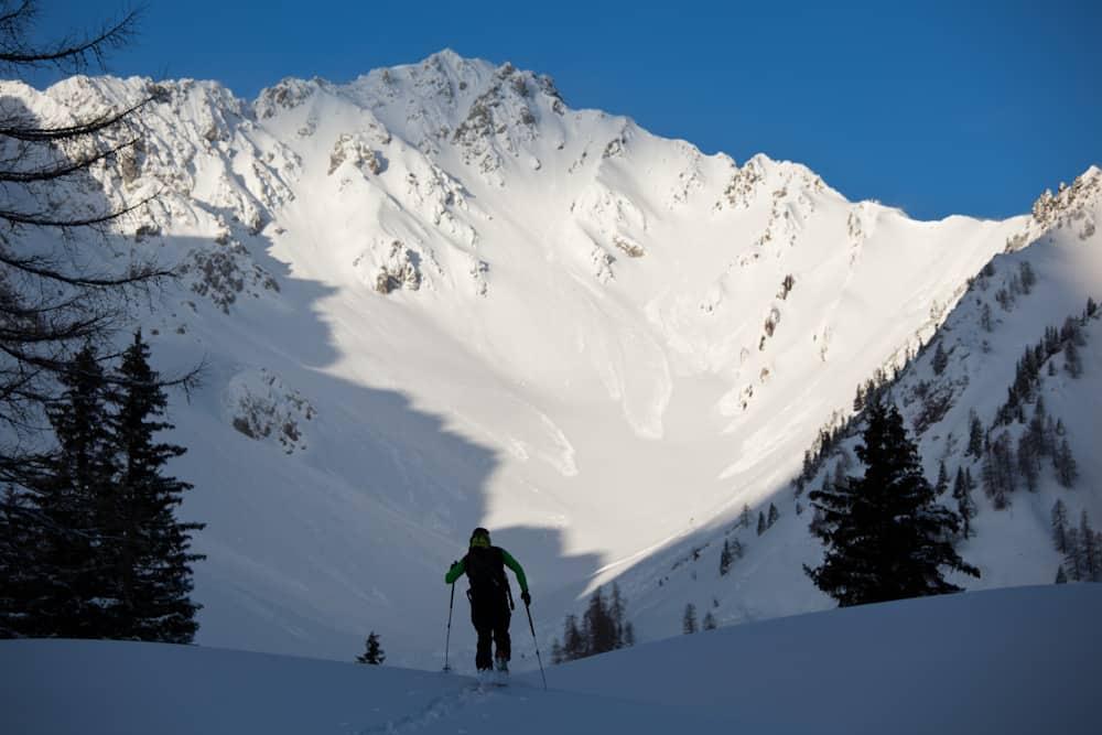 Skitour auf den Hochwannig