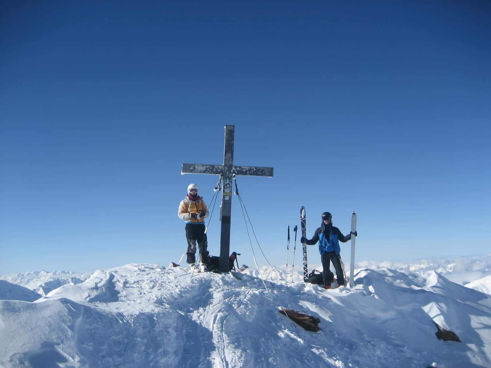Skitouren auf der Schweinfurter Hütte